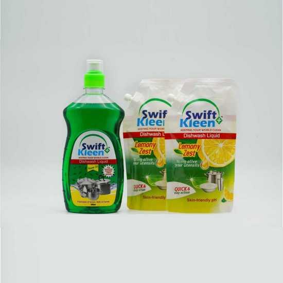 Dish Wash - Neem - 500ml + 2 x 120ml Lemon Pouches free