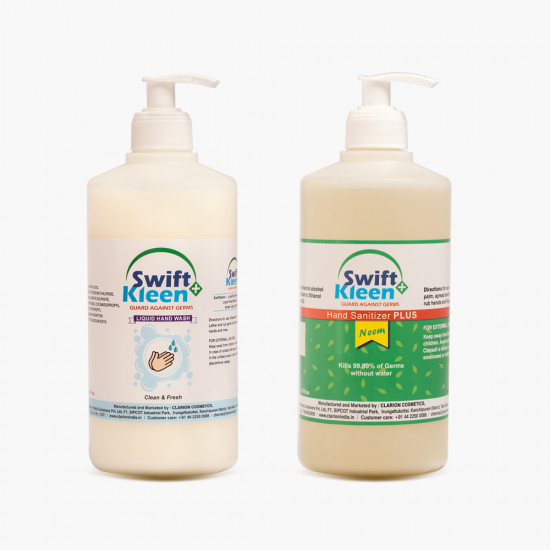 Hand Wash 500ml + Hand Sanitizer  ENA NEEM 500ml