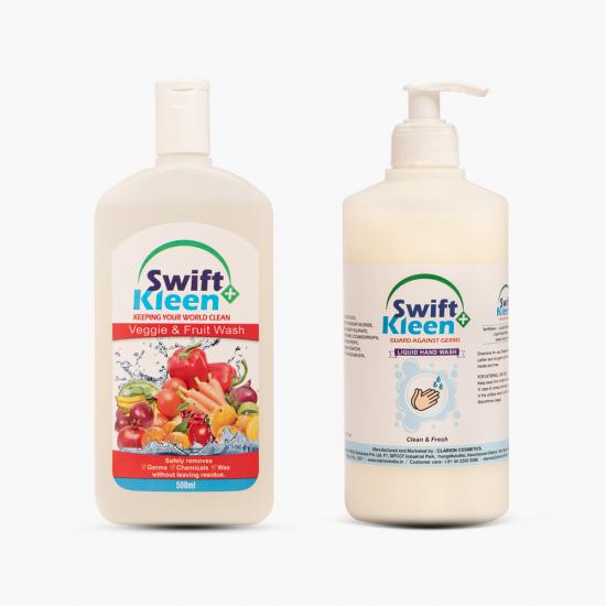 Hand Wash 500ml + Veggie Wash 500ml