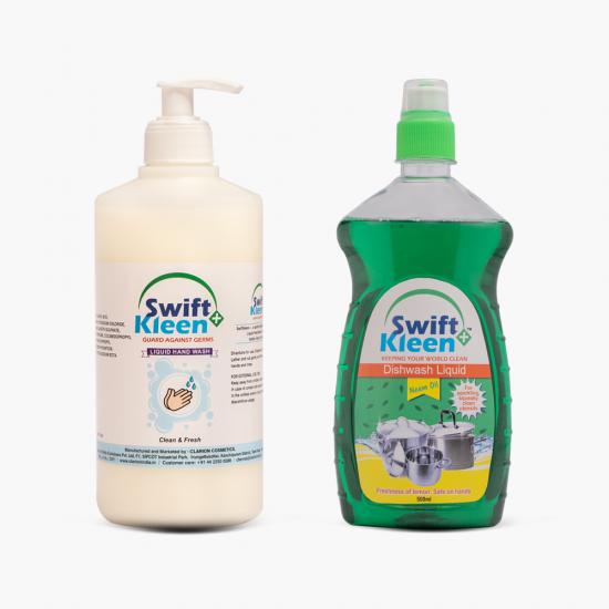 Hand Wash 500ml + Dish Wash Neem 500ml