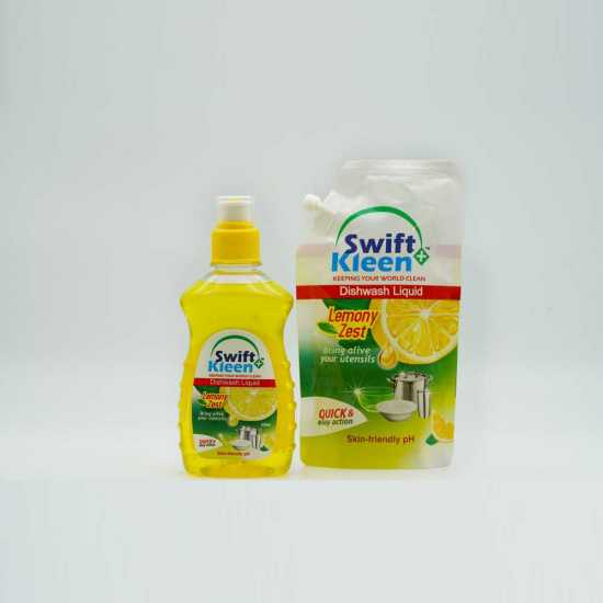 Dish Wash - Lemon - 250ml +  1 x 120ml Lemon Pouch Free