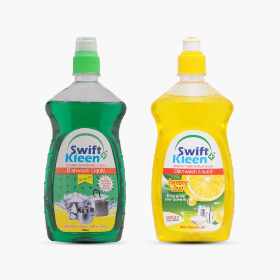 DISH Wash - Neem 500ml+ Dish Wash Lemon-500ml
